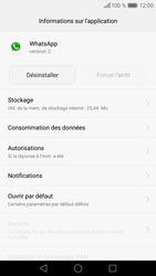 Huawei P9 Lite - Applications - Supprimer une application - Étape 6