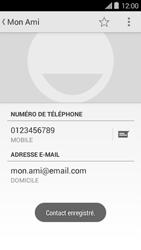 Bouygues Telecom Ultym 5 II - Contact, Appels, SMS/MMS - Ajouter un contact - Étape 12