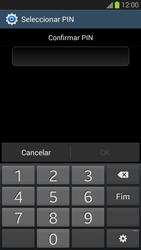Samsung Galaxy S3 - Segurança - Como ativar o código de bloqueio do ecrã -  10