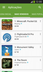 Samsung Galaxy Trend Plus - Aplicações - Como pesquisar e instalar aplicações -  7