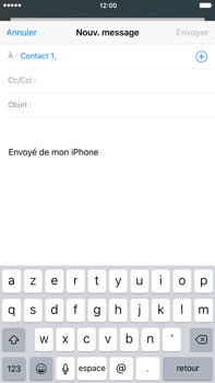 Apple iPhone 6s Plus - E-mails - Envoyer un e-mail - Étape 6