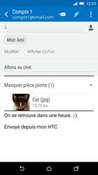 HTC One M9 - E-mails - Envoyer un e-mail - Étape 15