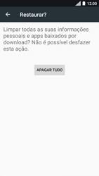 Motorola Moto C Plus - Funções básicas - Como restaurar as configurações originais do seu aparelho - Etapa 9