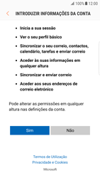 Samsung Galaxy S6 Edge - Android Nougat - Email - Adicionar conta de email -  7
