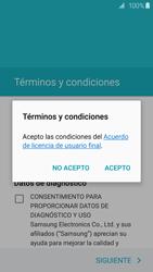 Samsung Galaxy S6 - Primeros pasos - Activar el equipo - Paso 7