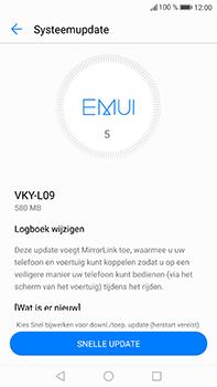 Huawei P10 Plus - Software update - update installeren zonder PC - Stap 5