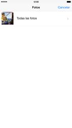 Apple iPhone 6 Plus iOS 8 - Mensajería - Escribir y enviar un mensaje multimedia - Paso 10
