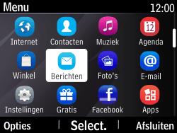 Nokia Asha 210 - MMS - Afbeeldingen verzenden - Stap 2