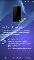 Sony Xperia E4G - Primeiros passos - Como ativar seu aparelho - Etapa 13