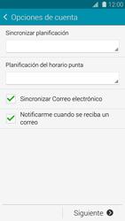 Samsung G900F Galaxy S5 - E-mail - Configurar correo electrónico - Paso 16