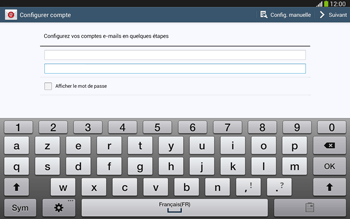 Samsung P5220 Galaxy Tab 3 10-1 LTE - E-mail - Configurer l