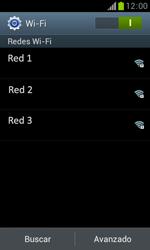 Samsung S7560 Galaxy Trend - WiFi - Conectarse a una red WiFi - Paso 6