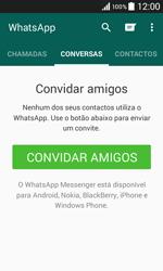 Samsung Galaxy Core II - Aplicações - Como configurar o WhatsApp -  12