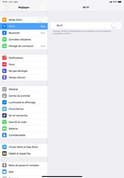 Apple iPad Pro 11 (2018) - Wi-Fi - Se connecter à un réseau Wi-Fi - Étape 4