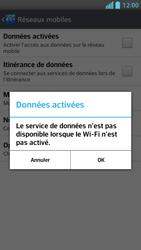 LG Optimus F5 - Internet et connexion - Désactiver la connexion Internet - Étape 7