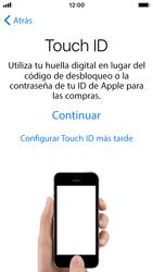 Apple iPhone SE iOS 11 - Primeros pasos - Activar el equipo - Paso 11