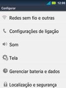 Motorola Master XT605 - Rede móvel - Como ativar e desativar uma rede de dados - Etapa 4