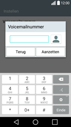LG Leon 3G (LG-H320) - Voicemail - Handmatig instellen - Stap 8