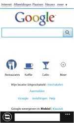 Nokia Lumia 800 - Internet - Internet gebruiken - Stap 7