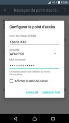 Sony Xperia XA1 - Internet et connexion - Partager votre connexion en Wi-Fi - Étape 10