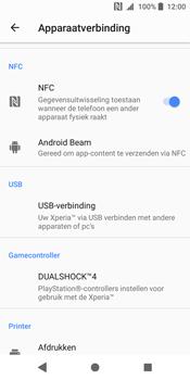 Sony Xperia XZ2 (H8216) - NFC - NFC activeren - Stap 6
