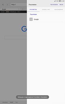 Samsung Galaxy Tab A 10.1 (SM-T585) - Internet - Hoe te internetten - Stap 9