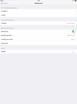 Apple iPad Pro 12.9 inch (2nd generation) - E-mail - Account instellen (POP3 met SMTP-verificatie) - Stap 23
