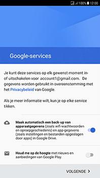 Samsung Galaxy J7 (2017) - Applicaties - Account instellen - Stap 17