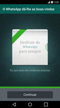 LG G4 - Aplicações - Como configurar o WhatsApp -  10