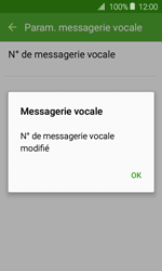 Samsung J120 Galaxy J1 (2016) - Messagerie vocale - Configuration manuelle - Étape 9