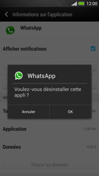 HTC One - Applications - Supprimer une application - Étape 7