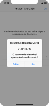 Apple iPhone X - Aplicações - Como configurar o WhatsApp -  10