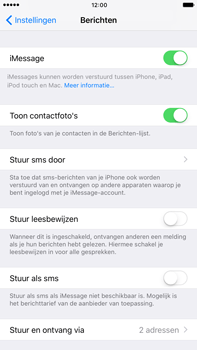 Apple Apple iPhone 6 Plus iOS 10 - iOS features - Stuur een iMessage - Stap 5