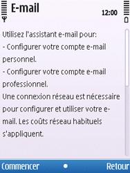 Nokia C5-00 - E-mail - Configuration manuelle - Étape 6