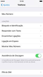 Apple iPhone iOS 10 - Chamadas - Como bloquear chamadas de um número específico - Etapa 5