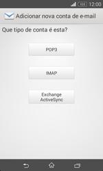 Sony Xperia E1 - Email - Configurar a conta de Email -  8