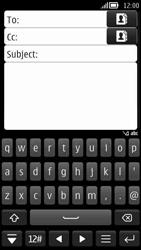 Nokia 808 PureView - Email - Sending an email message - Step 6