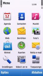 Nokia C6-00 - SMS - handmatig instellen - Stap 3