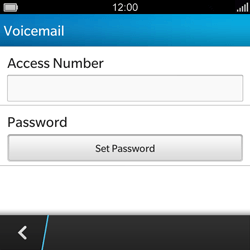 BlackBerry Q5 - Voicemail - Manual configuration - Step 6