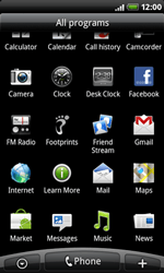 HTC A8181 Desire - MMS - Sending a picture message - Step 2