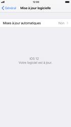 Apple iPhone 6 - iOS 12 - Appareil - Mise à jour logicielle - Étape 7