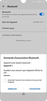 Huawei P30 - Bluetooth - connexion Bluetooth - Étape 9