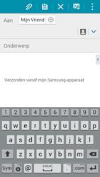Samsung A500FU Galaxy A5 - E-mail - E-mails verzenden - Stap 8