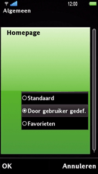Sony Ericsson U1i Satio - Internet - Handmatig instellen - Stap 21