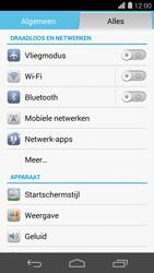 Huawei Ascend P7 - 4G instellen  - Toestel instellen voor 4G - Stap 4