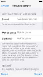 Apple iPhone SE - Applications - Créer un compte - Étape 12