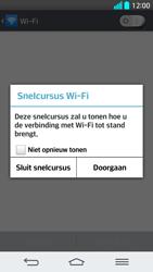 LG G2 - WiFi - Handmatig instellen - Stap 5