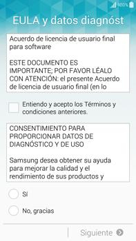 Samsung N910F Galaxy Note 4 - Primeros pasos - Activar el equipo - Paso 5
