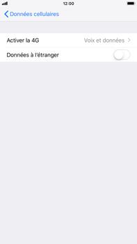 Apple iPhone 6 Plus - iOS 12 - Réseau - Changer mode réseau - Étape 5