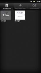 Sony LT26i Xperia S - Internet - Internet gebruiken - Stap 8